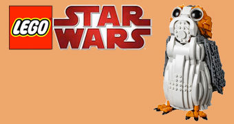 LEGO Star Wars Porg com 811 Peças