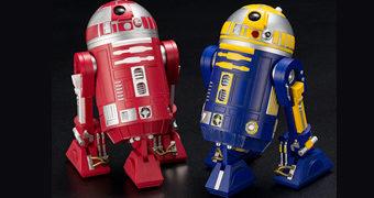 R2-R9 & R2-B1 ArtFX+ Droides Astromech – Estátuas Kotobukiya 1:10 Star Wars Celebration 2019