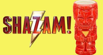 Caneca Tiki Mug Shazam! no Estilo Polinésio