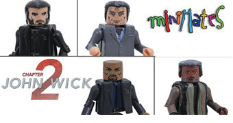 Mini-Figuras John Wick: Chapter 2 Minimates