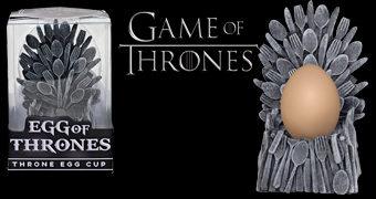 "Porta-Ovo Trono de Ferro ""Egg of Thrones"" (Game of Thrones)"