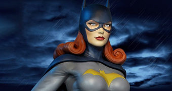 Batgirl Super Powers Maquete Tweeterhead Escala 1:6