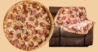 Cobertor Pizza Pepperoni