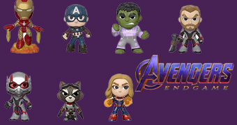 Vingadores: Ultimato Mystery Minis (Marvel) – Mini-Figuras Funko Blind-Box