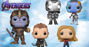 Bonecos Pop! Vingadores: Ultimato