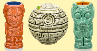 Canecas Tiki Mugs Star Wars Celebration: Estrela da Morte e Han vs. Greedo