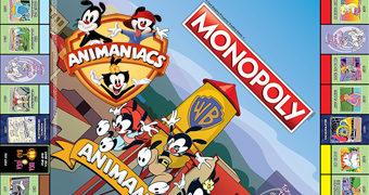 Jogo Monopoly Animaniacs, a Série Animada de Steven Spielberg