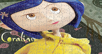 Quebra-Cabeça Coraline com 1.000 Peças (Neil Gaiman)