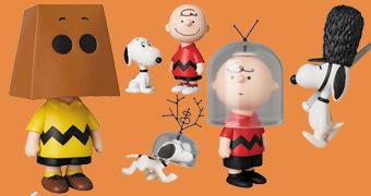 Bonecos Peanuts UDF Série 10 da Medicom Japão