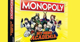 Jogo Monopoly My Hero Academia (Boku no Hero Academia)