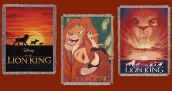 Cobertores de Lance O Rei Leão