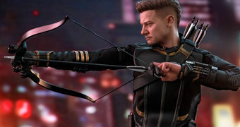 Hawkeye (Jeremy Renner) Vingadores: Ultimato – Action Figure Perfeita 1:6 Hot Toys