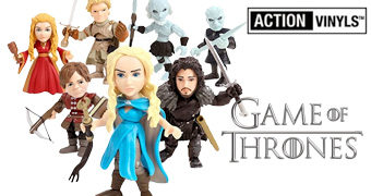 Mini-Figuras Game of Thrones Action Vinyls Wave 1