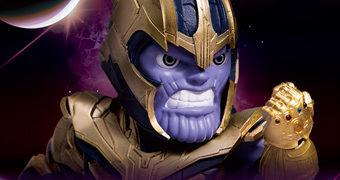 Action Figure Thanos Egg Attack (Vingadores: Ultimato)