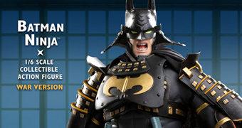 Action Figures Batman Ninja do Filme de Junpei Mizusaki