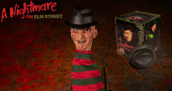 Freddy Krueger Burst-A-Box (Jack-In-The-Box) A Hora do Pesadelo