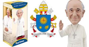 Sumo Pontífice Papa Francisco Bobble Head (Sexta-feira Santa)