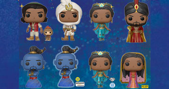 Bonecos Pop! Aladdin (2019) Live Action!