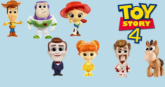 Mini-Figuras Toy Story 4 Mattel (Blind-Bag)