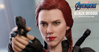 Black Widow (Scarlett Johansson) Vingadores: Ultimato – Action Figure Perfeita 1:6 Hot Toys