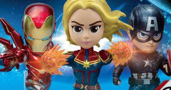 Estátuas Vingadores: Ultimato Mini Egg Attack da Beast Kingdom