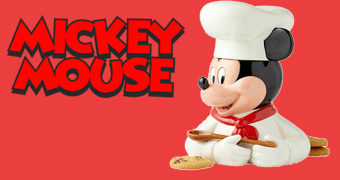 Pote de Cookies Chef Mickey