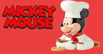Pote de Cookies Chef Mickey