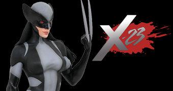 Estátua X-23 (Laura Kinney) X-Force Marvel Gallery