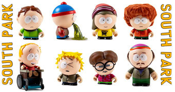 "Mini-Figuras Kidrobot South Park ""The Boys"" (Blind-Box)"