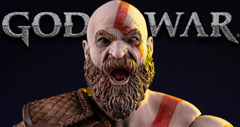 Action Figure Perfeita Kratos God Of War em Escala 1:6 (Mondo)