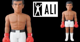 Boneco Muhammad Ali VCD Medicom
