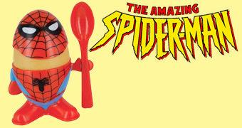Porta-Ovo Spiderman Egg Cup (Homem-Aranha)