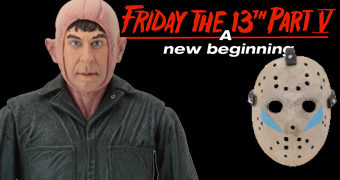 Impostor Roy Burns Ultimate Action Figure – Sexta-Feira 13 Parte V (Friday the 13th: A New Beginning)