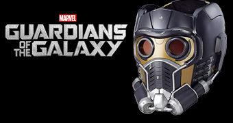 Capacete Eletrônico Star-Lord Guardiões da Galáxia