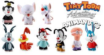 Mini-Figuras dos Desenhos Animados de Steven Spielberg: Tiny Toon Adventures e Animaniacs (Kidrobot)