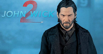 Action Figure John Wick 2 (Keanu Reeves) One:12 Collective da Mezco