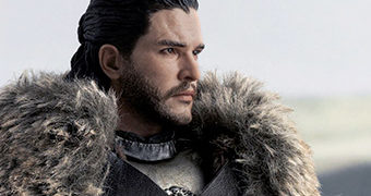 Jon Snow (Kit Harington) Protetor do Norte – Action Figure Perfeita Game of Thrones 1:6 ThreeZero