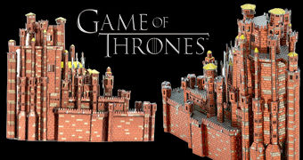 Red Keep (Fortaleza Vermelha) Metal Earth – Kit de Montar Metálico Game of Thrones