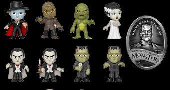 Monstros da Universal Studios Mystery Minis – Mini-Figuras Funko Blind-Box