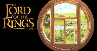 Janela Hobbit – Adesivo de Parede O Senhor dos Anéis