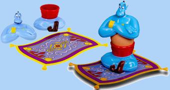 Porta-Ovo Gênio Azul de Aladdin!