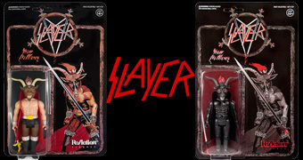Action Figures Minotauro da Banda de Thrash Metal Slayer