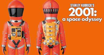 """Boneco Dr. David Bowman """"Space Suite"""" VCD 2001: Uma Odisseia no Espaço (Stanley Kubrick)"""