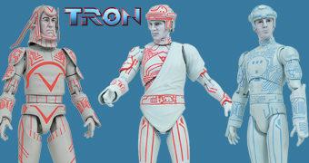 """Action Figures Select Line 7"""" TRON – Uma Odisseia Eletrônica"""