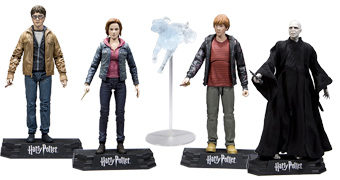 "Harry Potter e as Relíquias da Morte – Action Figures 7"" McFarlane Toys"