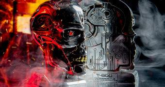 Apoios de Livros O Exterminador do Futuro 2: Terminator T-800 Bookends