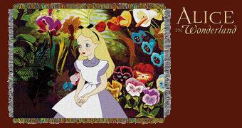 Cobertor de Lance Alice no País das Maravilhas