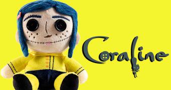 Boneca de Pelúcia Coraline PHUNNY (Neil Gaiman)