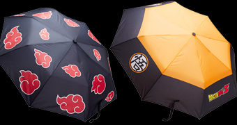 Guarda-Chuva Dragon Ball Z e Guarda-Chuva Naruto Shippuden