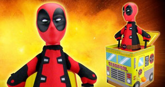 Deadpool Jack-in-the-Box Taco Food Truck